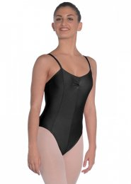 Black Tara Strappy Dance Leotard