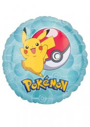 Inflated Pokemon Pikachu Helium Party Balloon