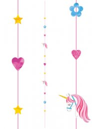Magical Unicorn Helium Balloon String Tail