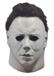 Deluxe Original Halloween 1978 Michael Myers Mask with Hair
