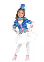 Kids Alice in Wonderland Style White Rabbit Costume