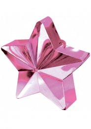 Pink Star Helium Balloon Weight