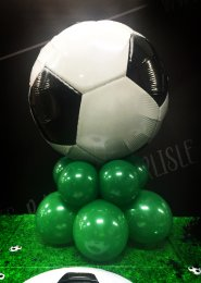 Inflated Football Balloon Table Centrepiece