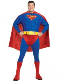 Superman Plus Size Superhero Costume