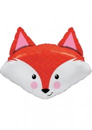 Inflated Large Fabulous Fox Helium Balloon