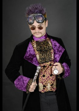 Deluxe Adult Mens Victorian Steam Punk Costume