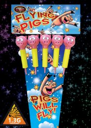 Flying Pigs Rockets Fireworks Pack 5