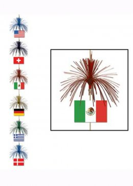International Flags Firework Stringer Decoration