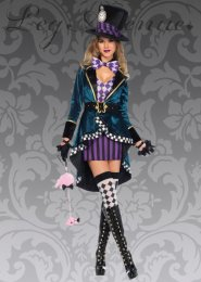 Leg Avenue Delightful Mad Hatter Costume