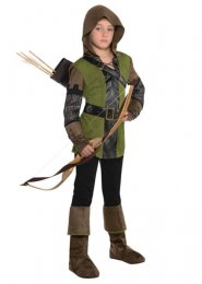 Teen Prince of Thieves Robin Hood Costume
