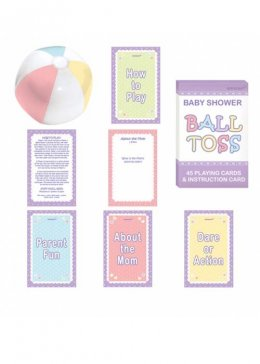 Baby Shower Ball Question Party Game