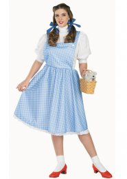 Ladies Plus Size Dorothy Costume