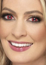 Red Electro Daily Eye Lenses