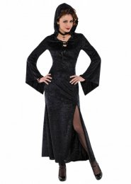 Ladies Halloween Vampire Enchantress Costume