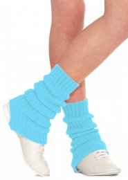 Kingfisher Blue Stirrup Dance Leg Warmers 60cm
