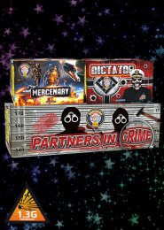 Partners in Crime Barrage Firework Pack Display Kit