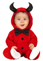 Toddler Size Halloween Cute Baby Red Devil Costume