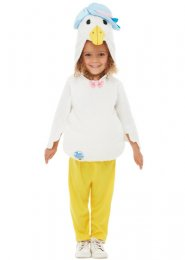 Kids Size Deluxe Jemima Puddle-Duck Costume