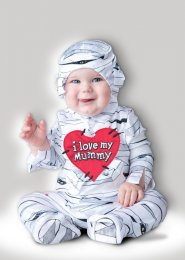 Baby Size Halloween Mummy Costume