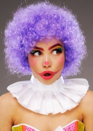 Purple Curly Pop Wig