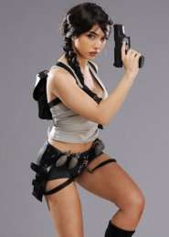 Womens Lara Croft Style Treasure Hunter Costume