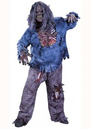 Adult XL Walking Dead Complete Zombie Costume
