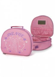Soft Vanity Case Pink Dance Bag