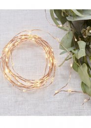 Rose Gold String Lights Party Decoration