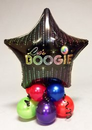 Inflated 70s Disco Lets Boogie Balloon Table Centrepiece