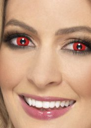 Halloween Red Daily Eye Lenses