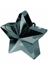 Black Star Helium Balloon Weight