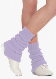 Lilac Stirrup Dance Leg Warmers 60cm
