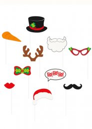 Christmas Party Photo Booth Funny Accessory Kit