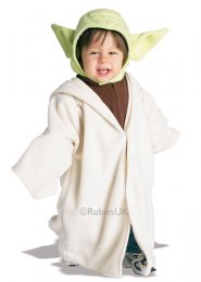 Toddler Size Star Wars Baby Yoda Costume