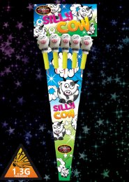 Silly Cow Rockets Fireworks Pack 5