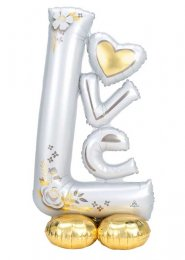 Inflated Love Wedding Airloonz Party Balloon