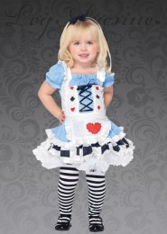 Kids Deluxe Blue Wonderland Alice Costume