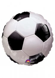 Inflated Football Party Soccer Helium Balloon