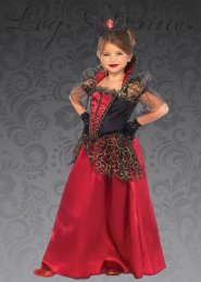 Kids Leg Avenue Deluxe Red Queen Costume