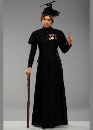 Adult Size Nanny McPhee Style Fancy Dress Costume