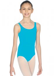 Turquoise Marine Beatrice Sleeveless Dance Leotard