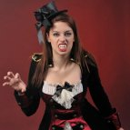 Gothic Vampire Fancy Dress