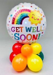 Happy Sun Get Well Soon Bright Balloon Centrepiece