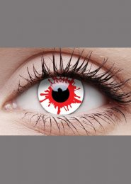 Halloween Zombie Wild Blood Daily Eye Lenses