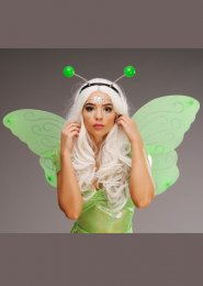 Green Glitter Butterfly Fairy Wings