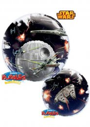 Inflated Star Wars Death Star Bubble Helium Balloon