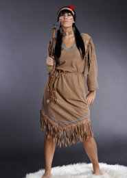 Womens Plus Size Cheyenne Indian Costume XL