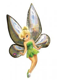 Inflated Large Disney Tinkerbell Airwalker Helium Balloon