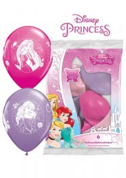 Disney Princess Assorted Party Balloons Pack 6