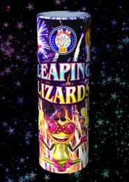 Leaping Lizards Fountain Firework
